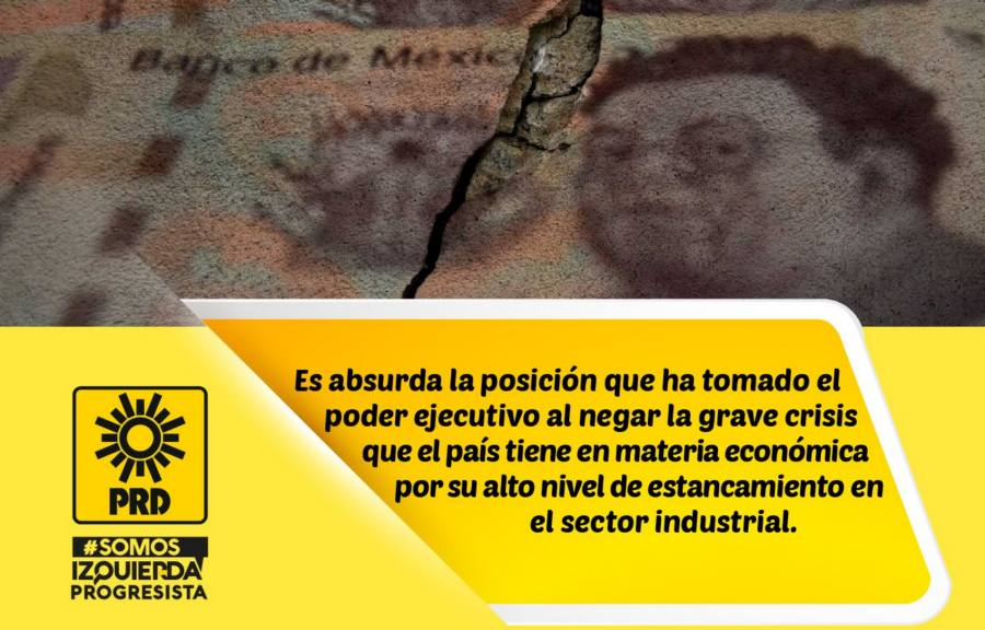 PRD inicia campaña de contrainforme presidencial