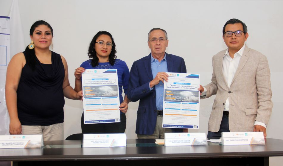 Presentan IAIPO y CECAD diplomado en materia de protección de datos personales