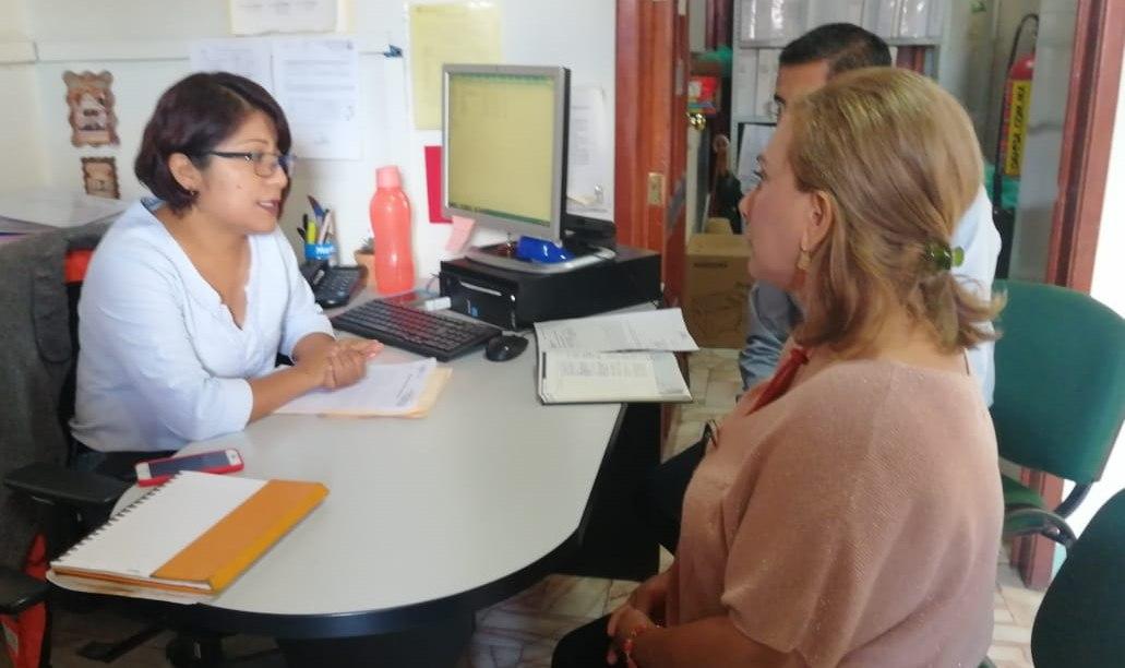 Delegada del IMSS OAXACA supervisa la guardería ordinaria 001