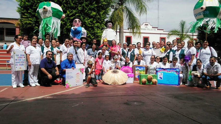 Hospital rural IMSS Bienestar en Villa Alta fomenta la lactancia materna