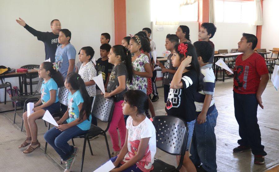 La UNPA apoyando a la educación básica de los oaxaqueños