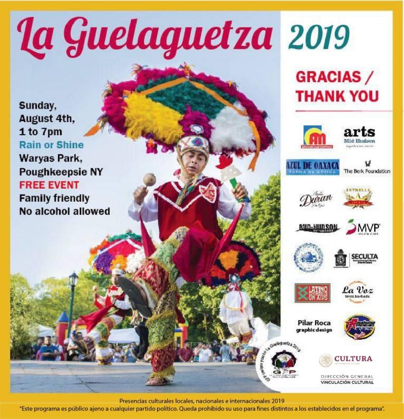 Presente Oaxaca con la Guelaguetza en Poughkeepsie, Nueva York
