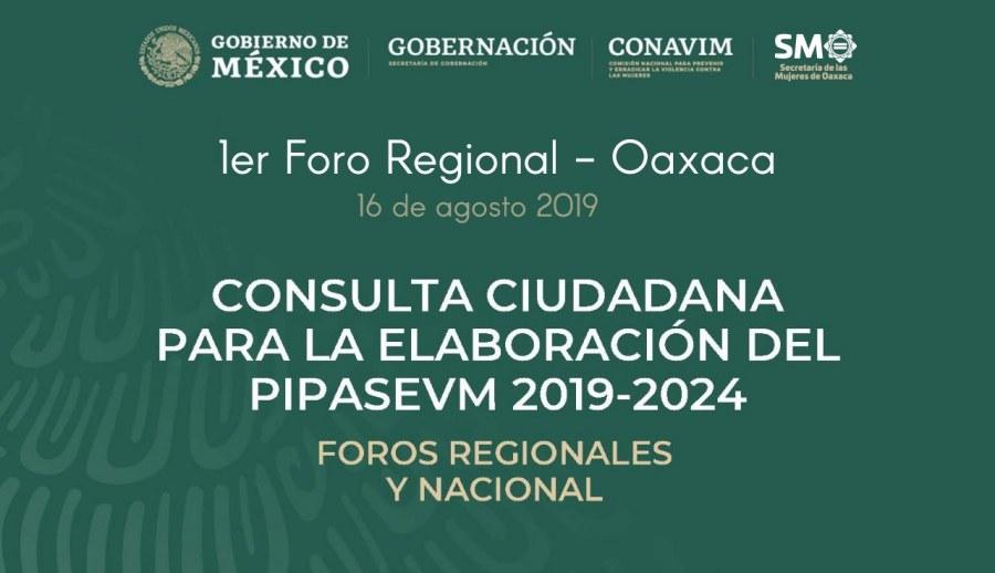 Oaxaca sede de Foro Regional para la creación de Plan Integral contra la Violencia de Género