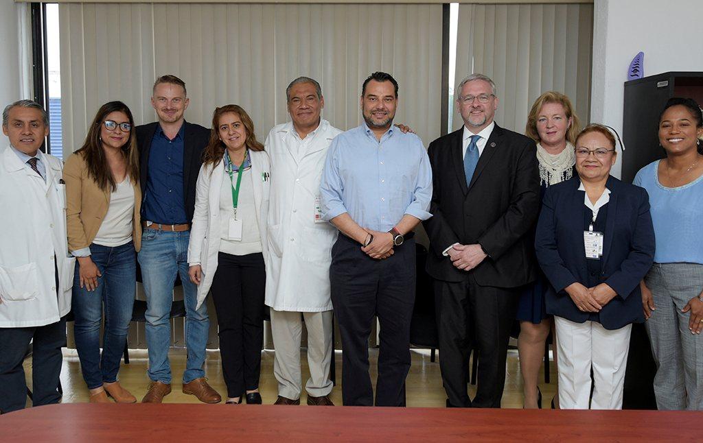 Signan convenio de colaboración entre SSO y la Universidad Augusta Estados Unidos