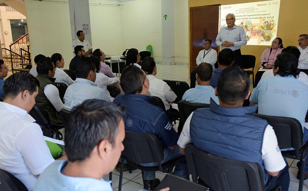 Capacita SSO a personal del Programa de Fortalecimiento a la Atención Médica