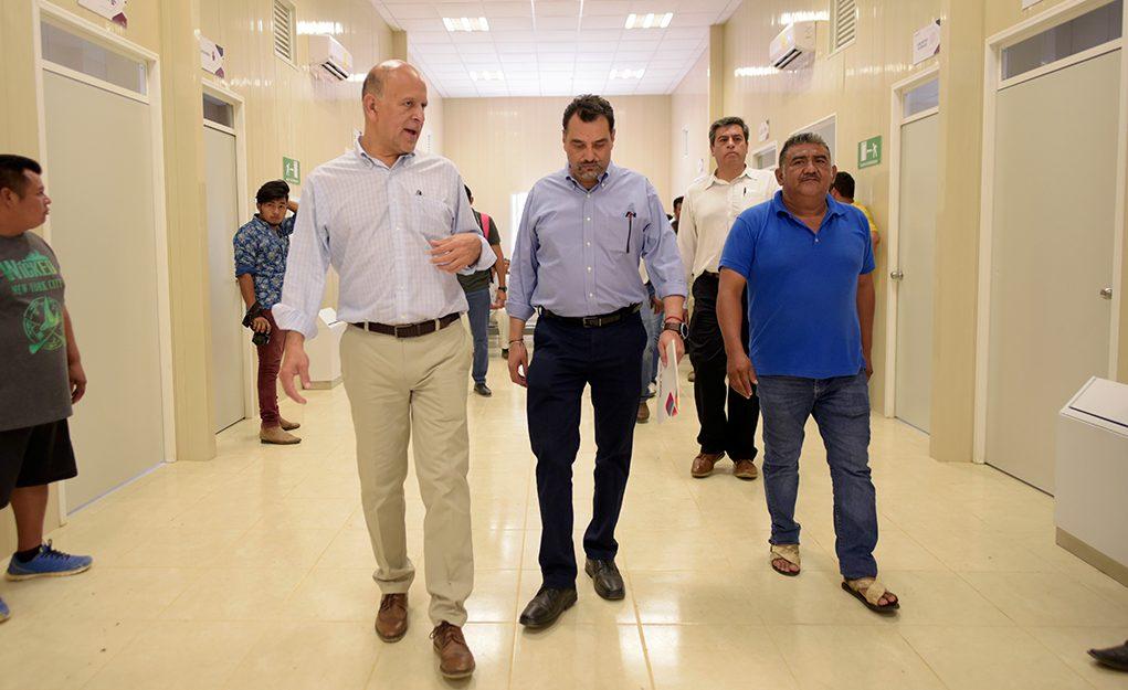 Supervisan SSO y Gobierno Federal unidades médicas en la región del Istmo