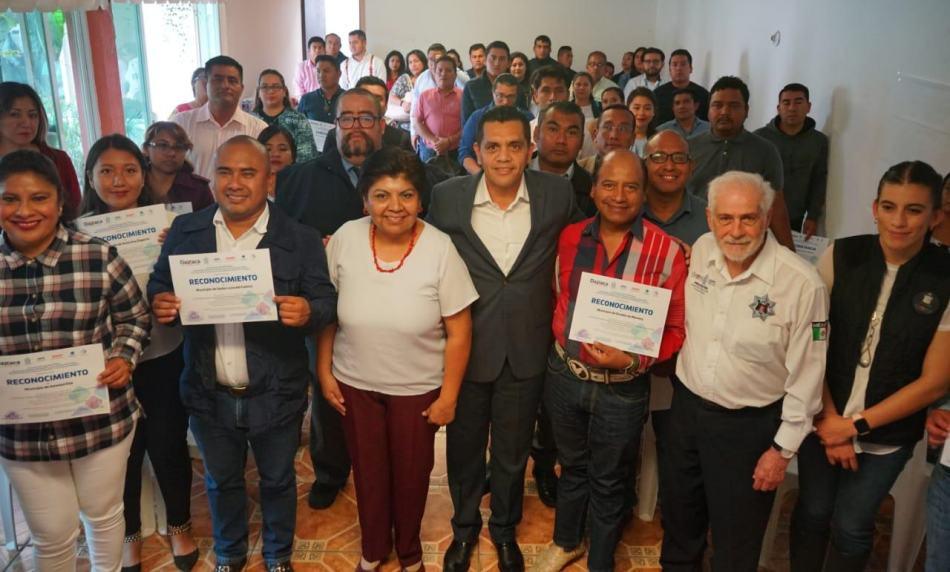 De la mano con la sociedad civil, construye SSPO un Oaxaca Seguro