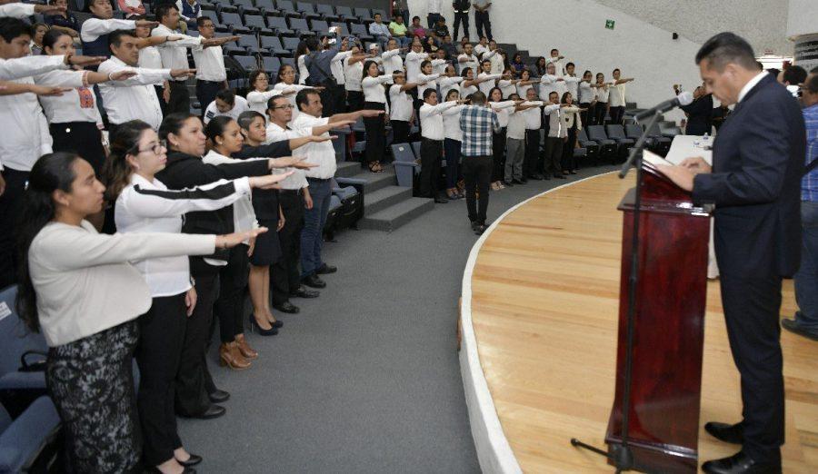 Titular de la SSPO toma protesta a integrantes del Comité Regional de Consulta y Participación Ciudadana de Seguridad Pública