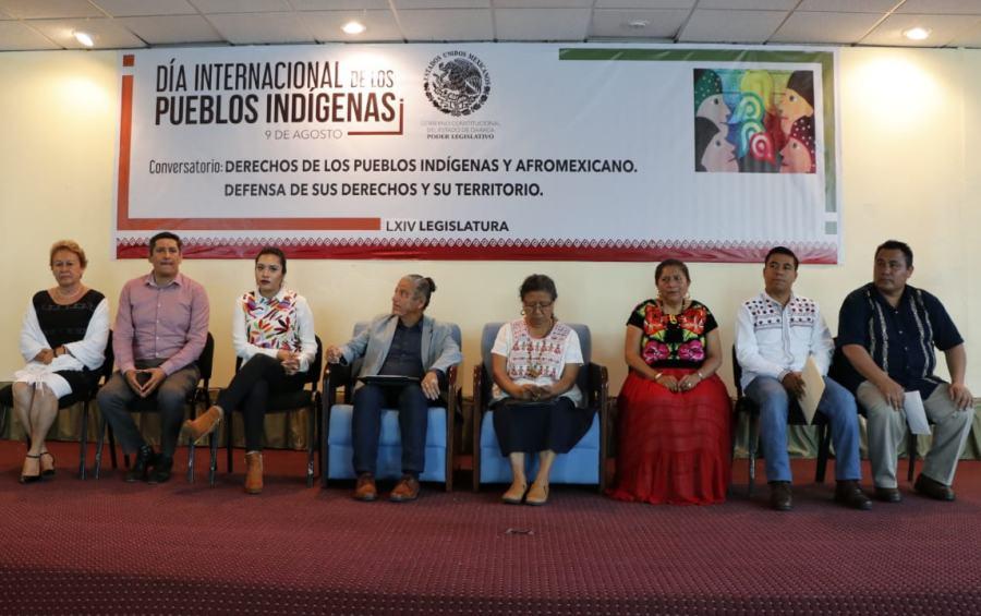 """Conversatorio """"Derechos de los Pueblos Indígenas. Defensa de sus Derechos y Territorio"""""""