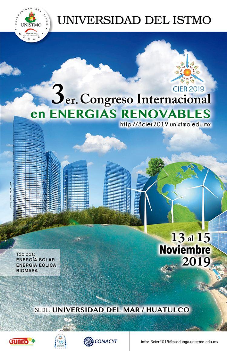 Realizará la Universidad del Istmo 3er Congreso Internacional en Energías Renovables