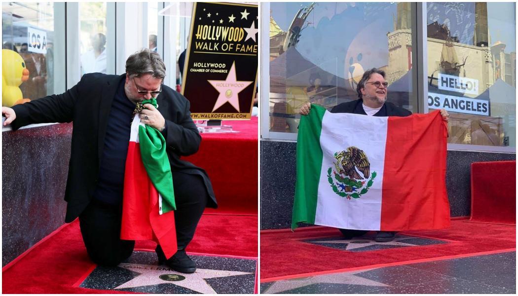 'Soy mexicano y soy migrante': Guillermo del Toro recibe su Estrella en el Paseo de la Fama