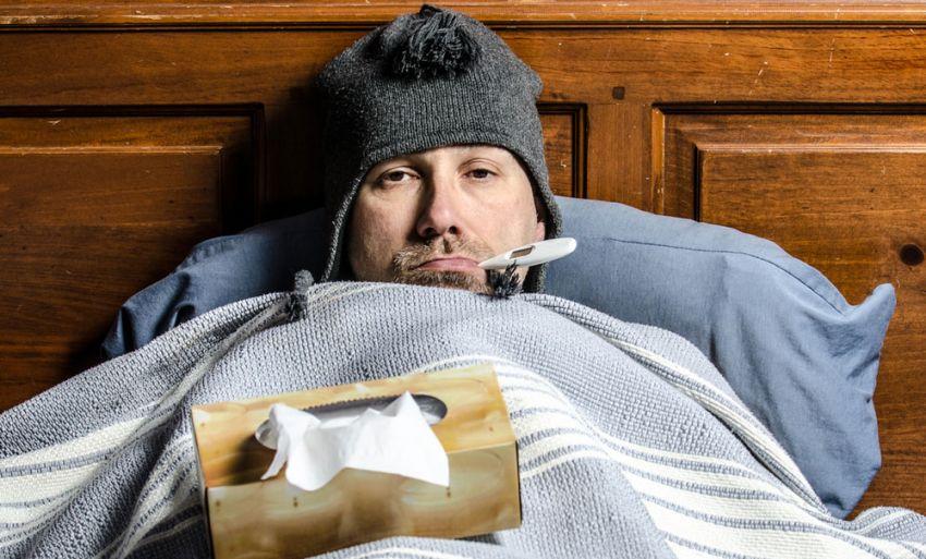 Los hombres no exageran, sus gripas sí son más fuertes