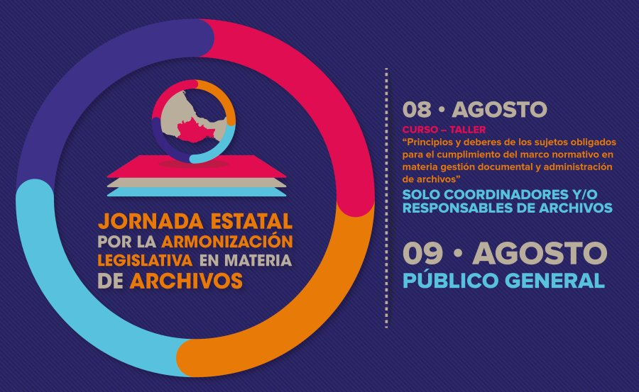Realizará IAIPO, INAI y AGN jornada estatal por la armonización legislativa en archivos