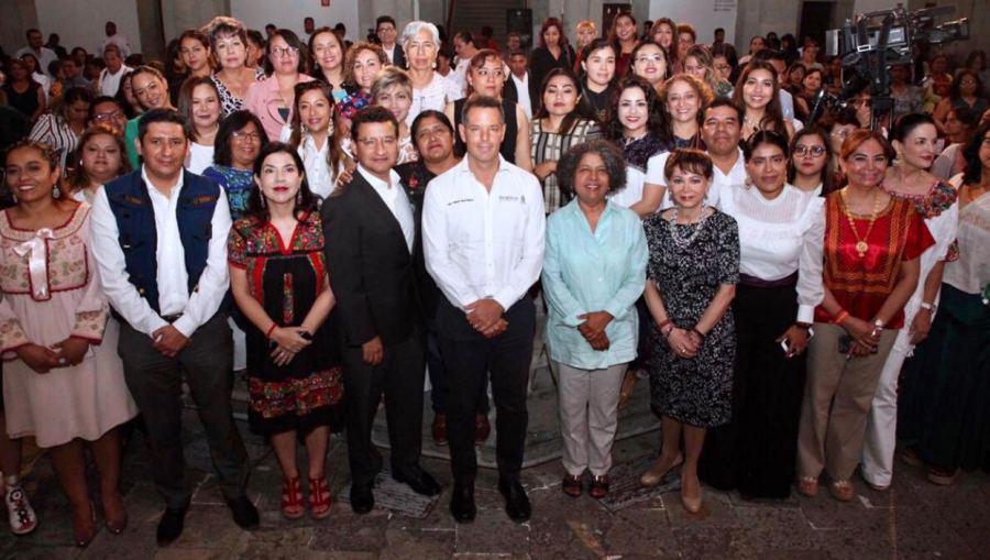 Visibilizar los diferentes tipos de violencia y promover su rechazo social, prioridad del Gobierno de Oaxaca:  Murat