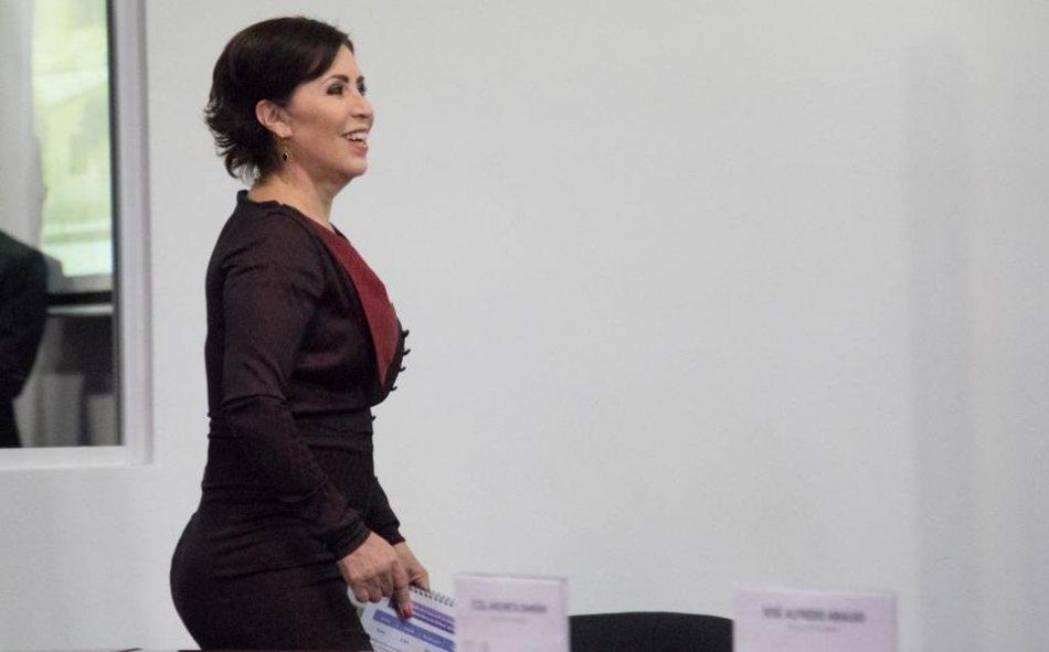 Rosario Robles paga casi 70 mil pesos para evitar ser detenida