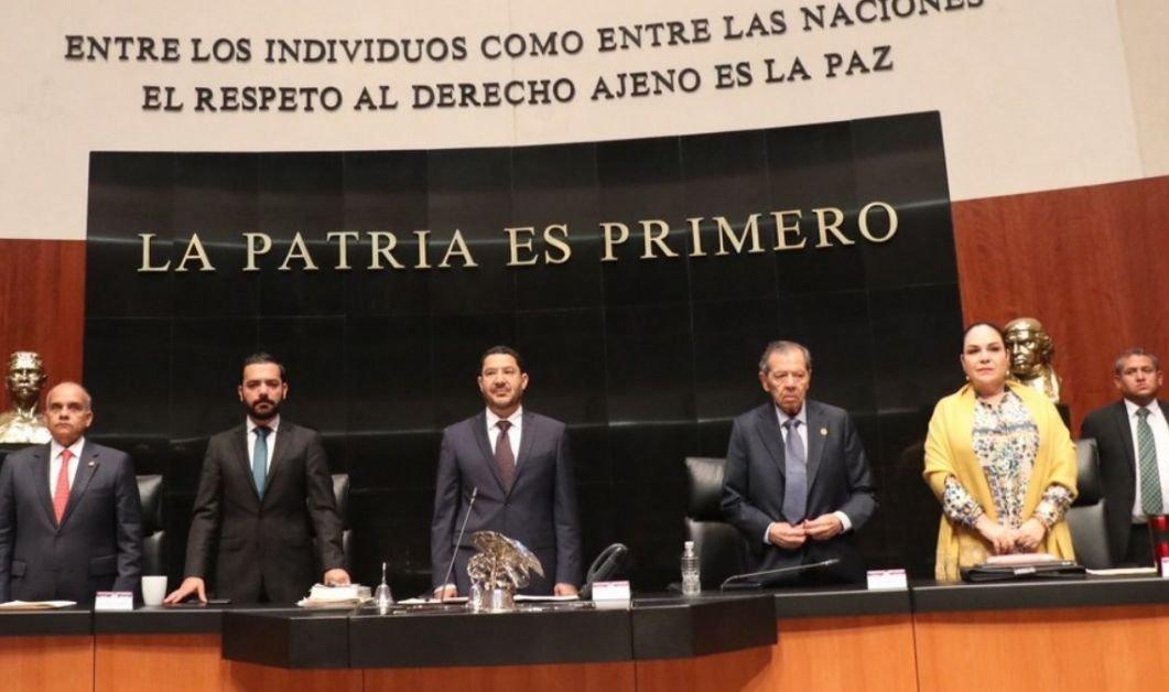 Invalidan presidencia de Mónica Fernández en el Senado