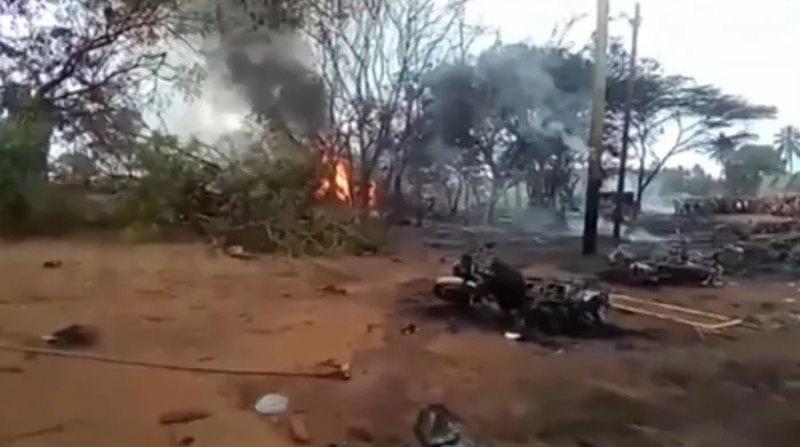 Explota pipa en Tanzania; hay al menos 60 muertos