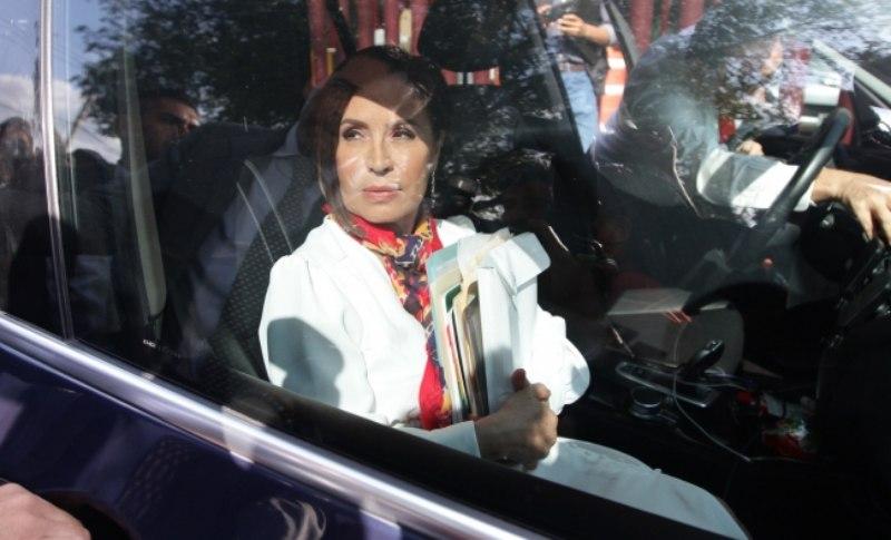 Rosario Robles ingresa al penal de Santa Martha