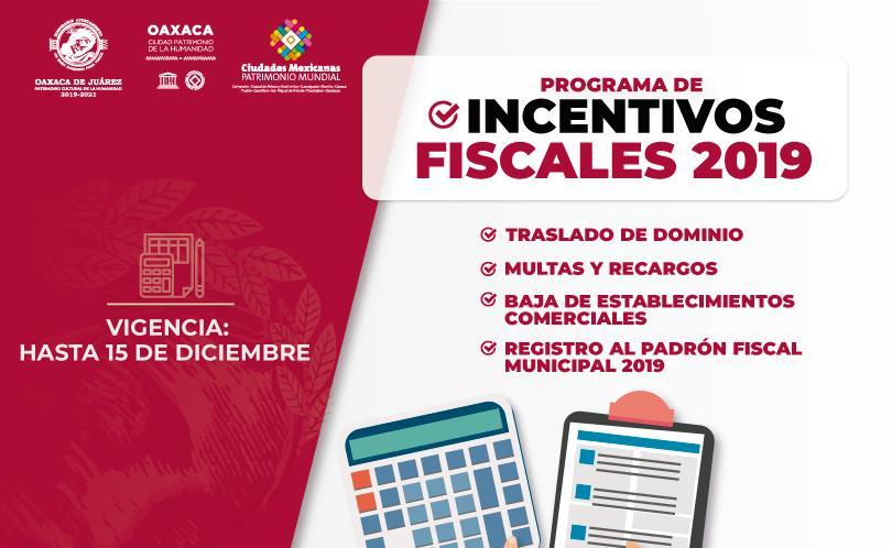 En septiembre, aprovecha los incentivos fiscales del Ayuntamiento capitalino