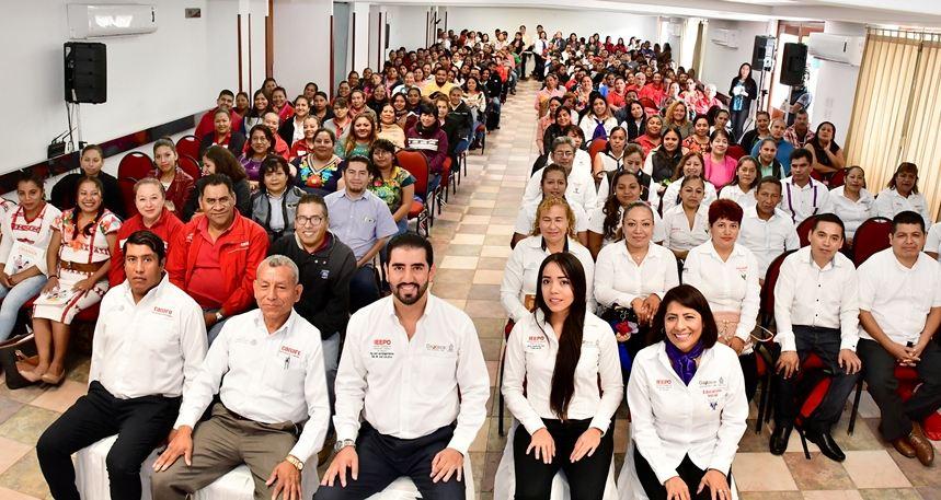 Educación Inicial, fundamental en  la formación de niñas y niños: IEEPO