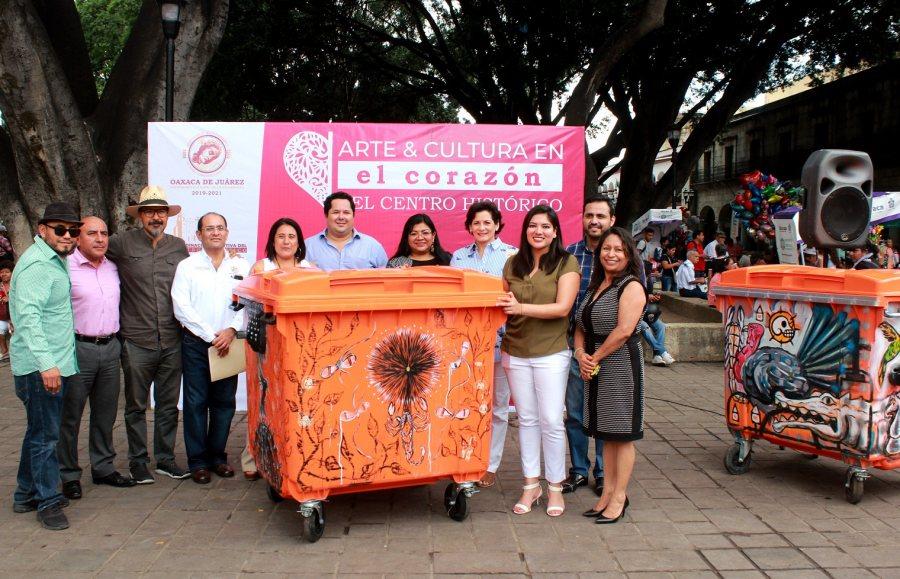 Conjuga Ayuntamiento de la ciudad arte y correcto manejo de residuos sólidos