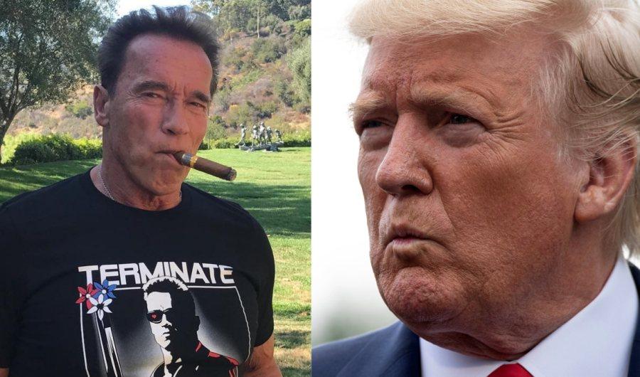 Schwarzenegger: 'Trump está enamorado de mí'