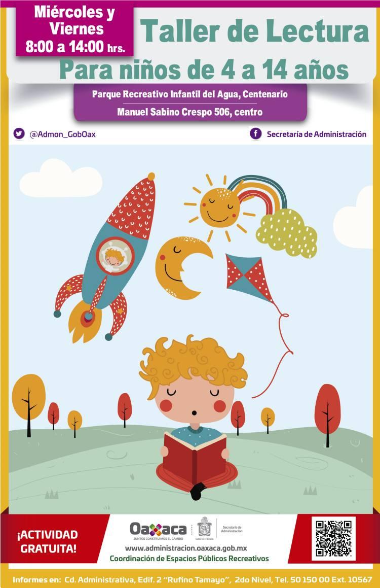 Con talleres, fomenta SA lectura entre la niñez
