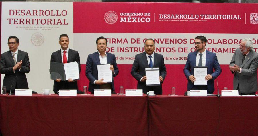 Gobierno de Oaxaca sumará acciones con la Federación para un ordenamiento territorial que propicie el bienestar para las y los oaxaqueños