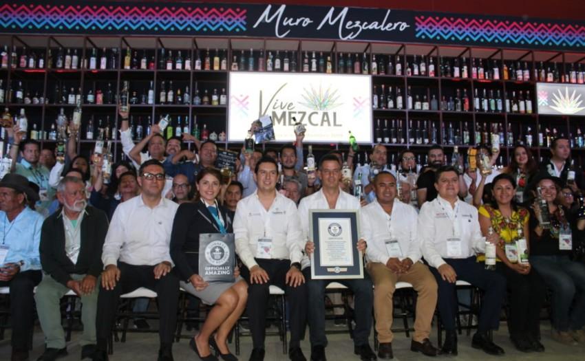 Logra Oaxaca Récord Guinness en el día de cierre del Foro Internacional Vive Mezcal
