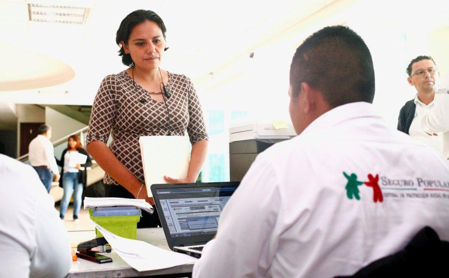 Apoya Administración afiliación a Seguro Popular