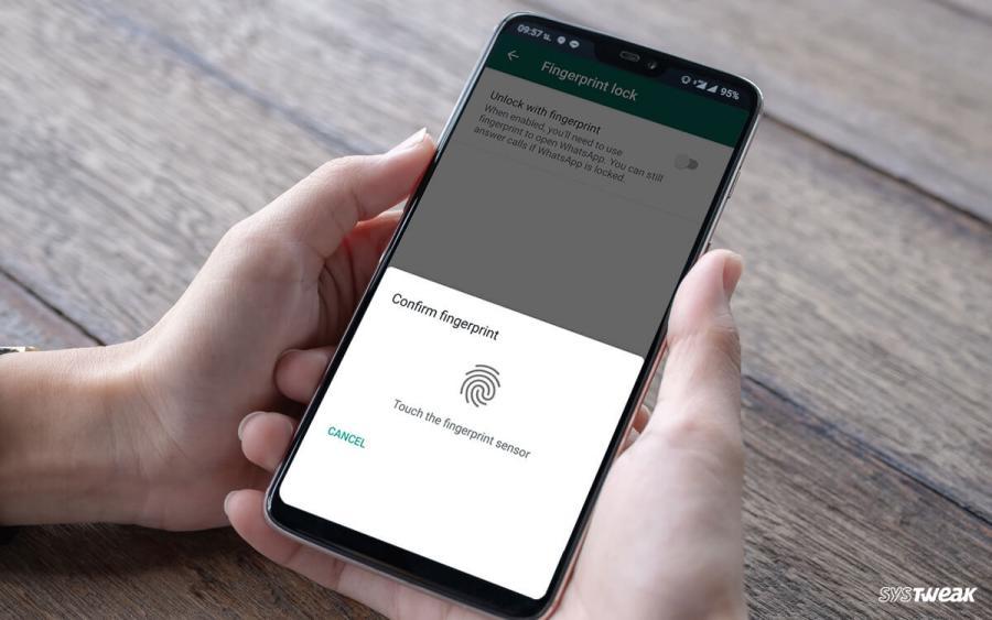 Nueva opción de WhatsApp permite añadir la huella dactilar para ingresar a la aplicación