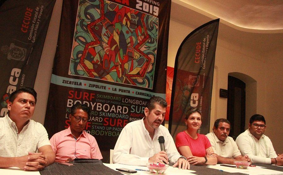Oaxaca será sede de los Juegos Nacionales de Surfing