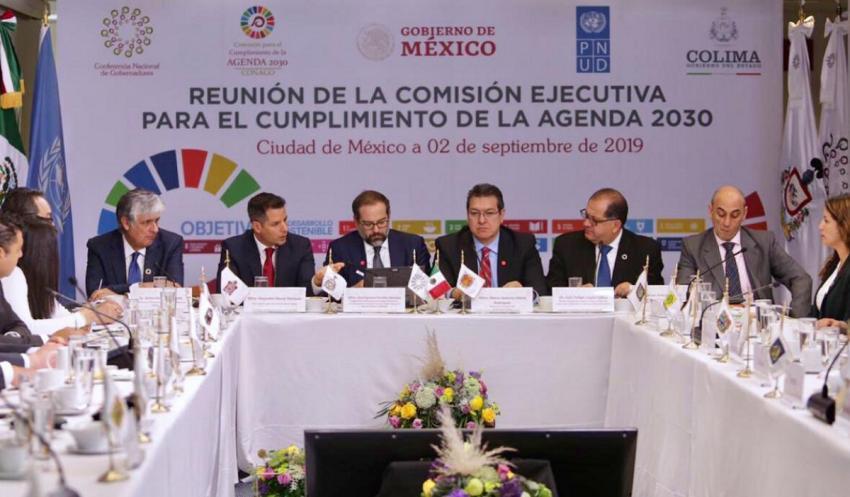 Convoca Murat a todos los sectores para lograr los Objetivos de Desarrollo Sostenible