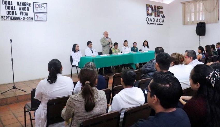 DIF Estatal Oaxaca se suma a la donación altruista de sangre