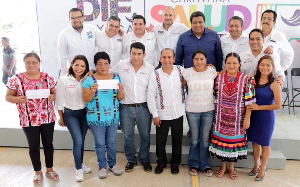 Arranca quinta etapa de la Caravana DIF en el municipio de San Felipe Usila