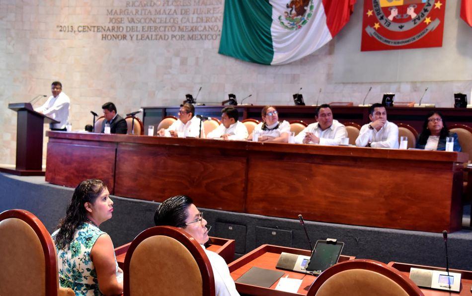Reprueban congresistas a Comité del Sistema de Combate a la Corrupción en Oaxaca