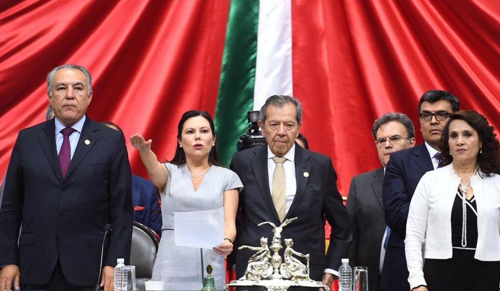 Eligen a Laura Rojas como presidenta de la Cámara de Diputados