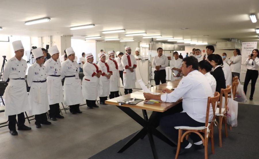 Inaugura Icapet Séptimo Concurso Nacional Gastronómico de los Icat, Oaxaca 2019