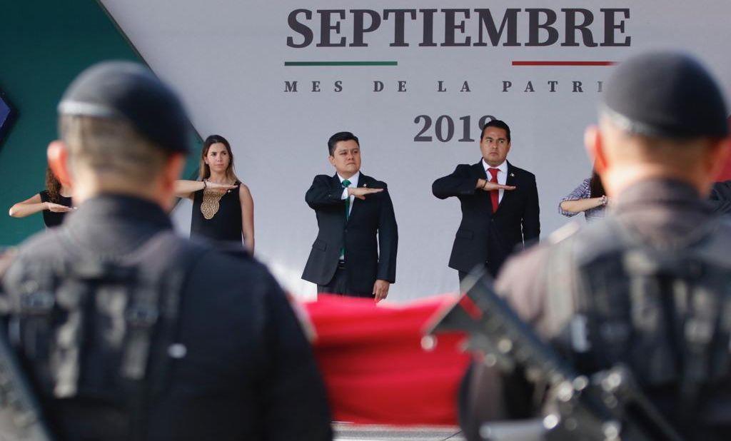 Rinde homenaje Sectur Oaxaca en el marco de Septiembre, Mes de la Patria