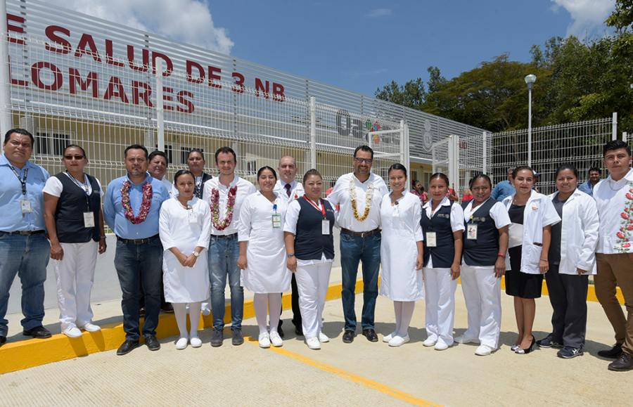 Inauguran Centro de Salud de Palomares
