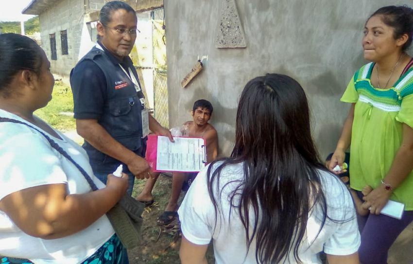 Implementa SSO operativo emergente en Jurisdicción Sanitaria 02 del Istmo de Tehuantepec