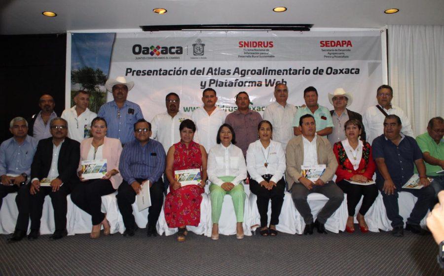 Presenta Sedapa Atlas Agroalimentario del Estado de Oaxaca y plataforma digital del SNIDRUS