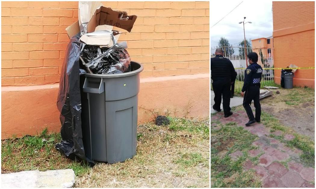 Hallan cuerpo de mujer en bote de basura en Iztapalapa