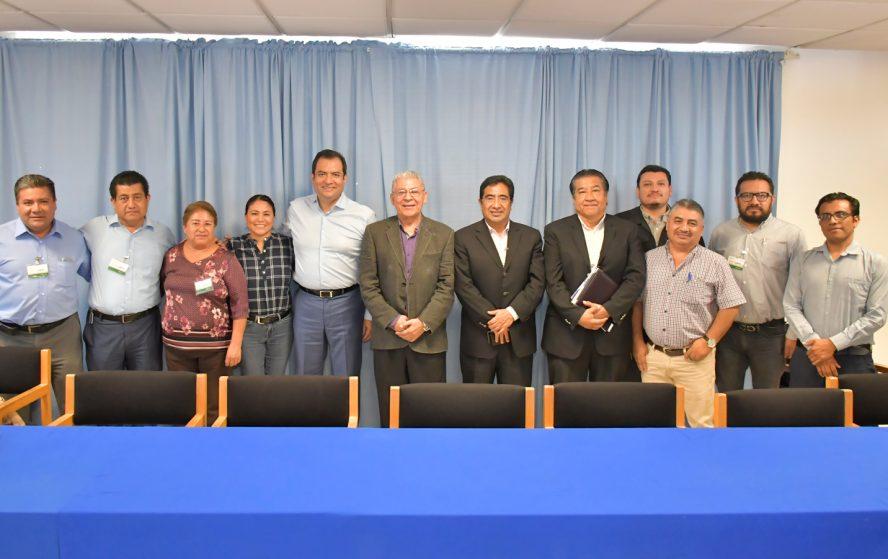 Ayuntamiento capitalino y Conagua firman convenio para proteger los ríos Atoyac y Salado
