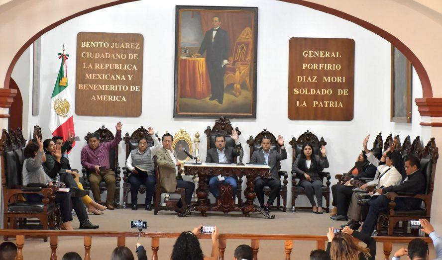 Respalda Cabildo de Oaxaca de Juárez reordenamiento de comercio en vía pública