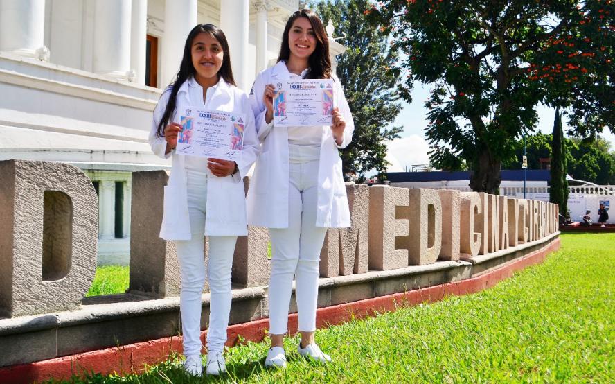 Estudiantes de Medicina ganan en concurso nacional de Morfología