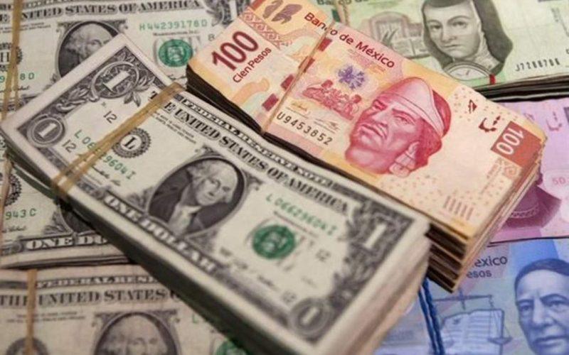 Peso pierde tras publicación de bajo crecimiento económico en México