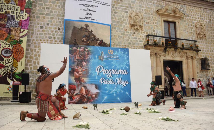 Promueve Gobierno capitalino tradiciones ancestrales de los pueblos de Mesoamérica