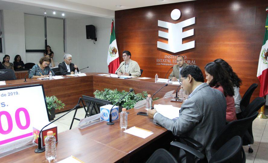 Aprueba IEEPCO conformación de sus comisiones 2019-2020