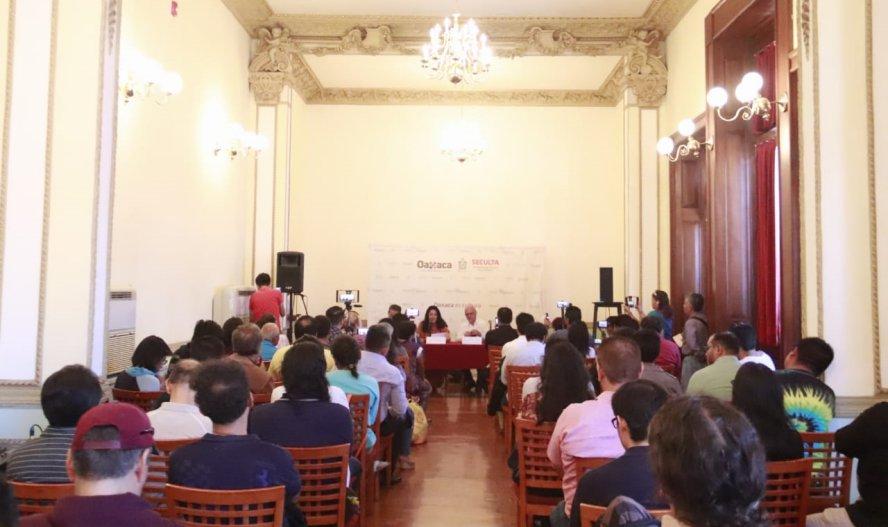 Presenta Seculta disco interpretando a Arturo Márquez en Oaxaca